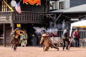 Tickets voor de Cowboy Show in Western City (4 p.)