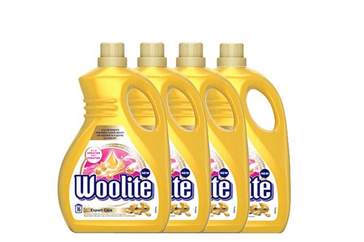 Woolite: 4 x 1 liter wasmiddel