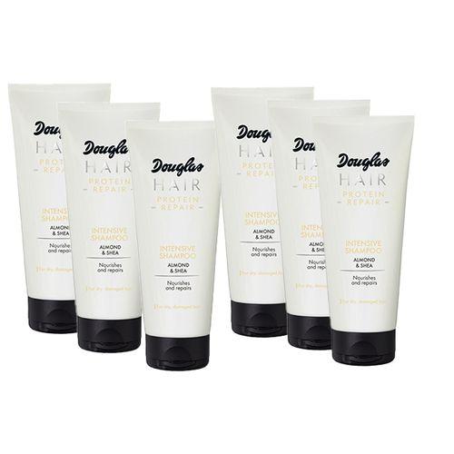 6 tubes Protein Repair-shampoo van Douglas