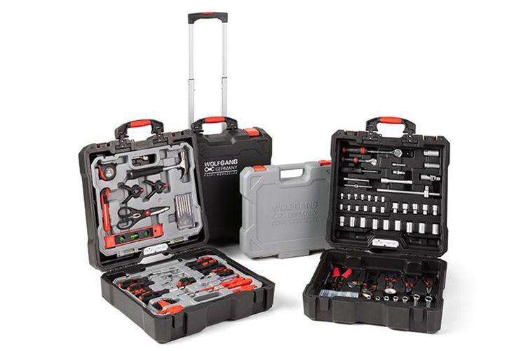 400-delige hardcase gereedschapskoffer van Wolfgang