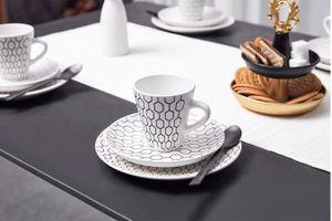 18-delige koffieset van Buccan (collectie: Hexagon)